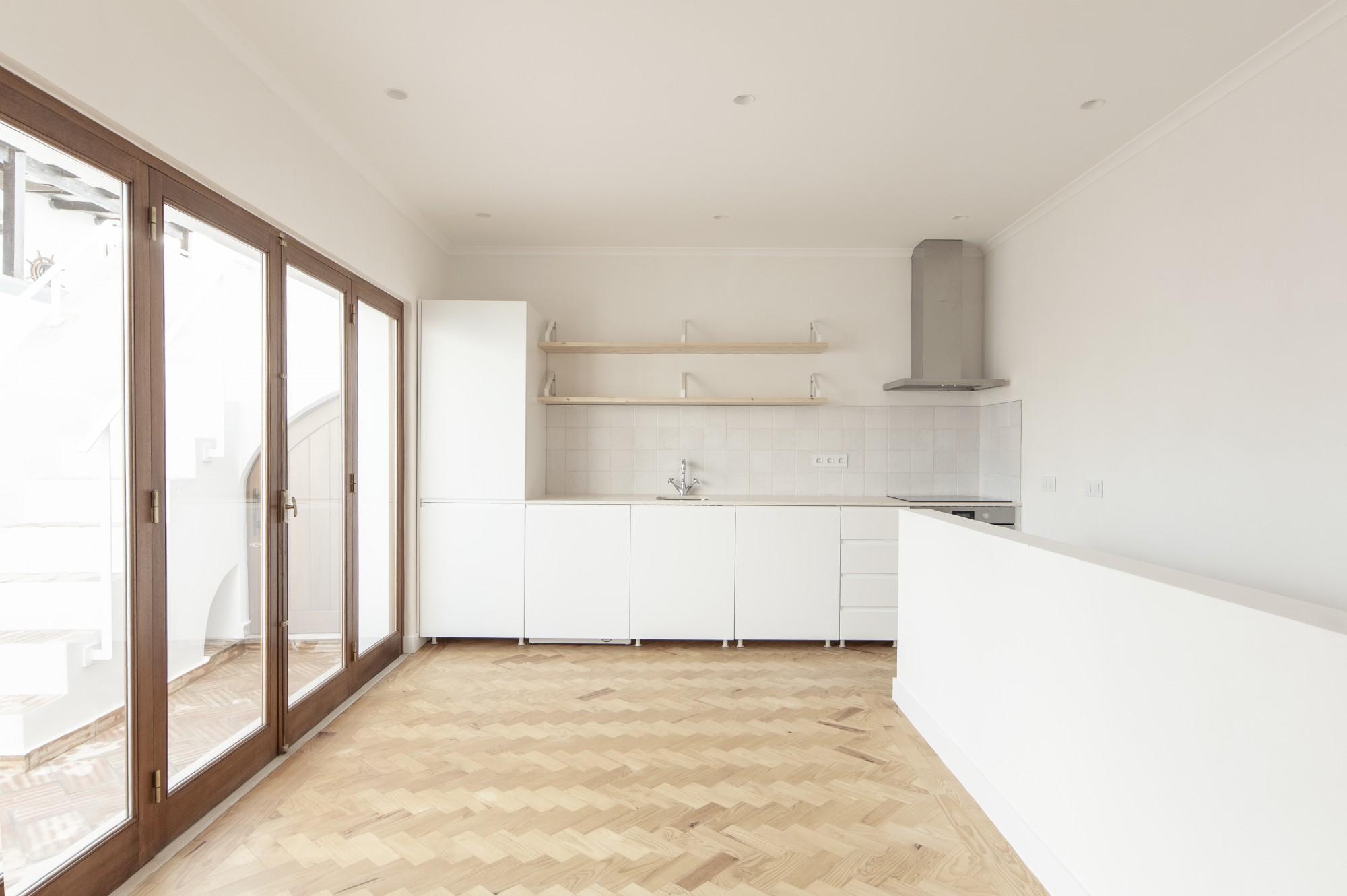 Open space cozinha-sala e o uso de luz natural / Living area and the use of natural Light